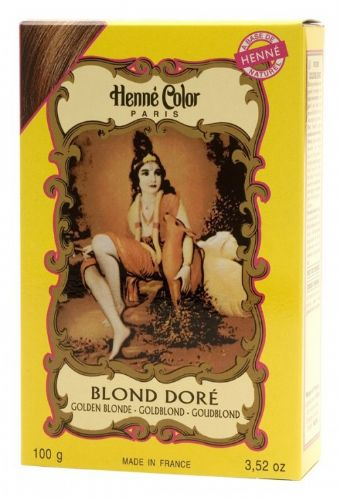 Golden Blonde Henne Natural Henna Hair Dye Powder